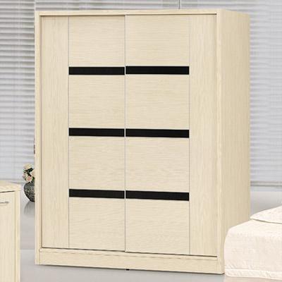 時尚屋 白雪松5x7尺衣櫃 寬150x深60x高197cm