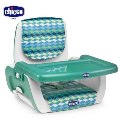 chicco-Mode攜帶式兒童餐椅-綠