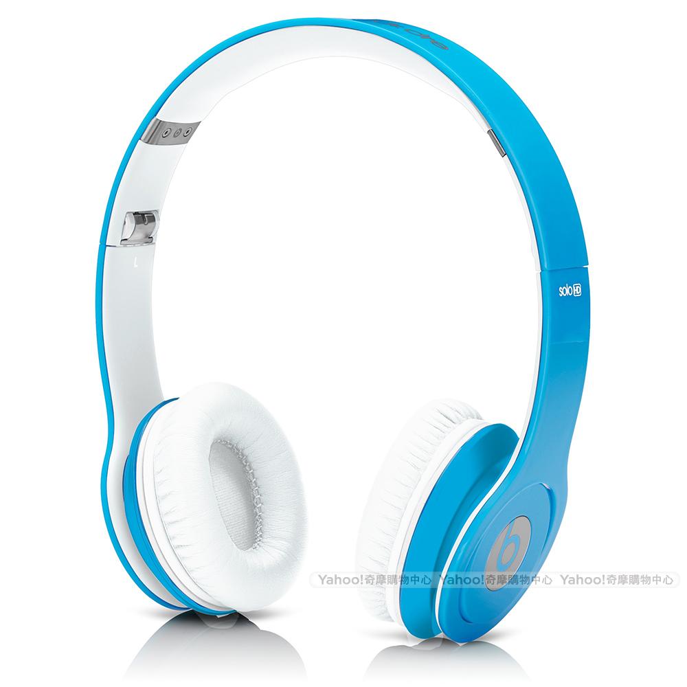 BEATS耳機 Solo HD 藍色 耳罩耳機 beats by dr. dre台灣公司貨