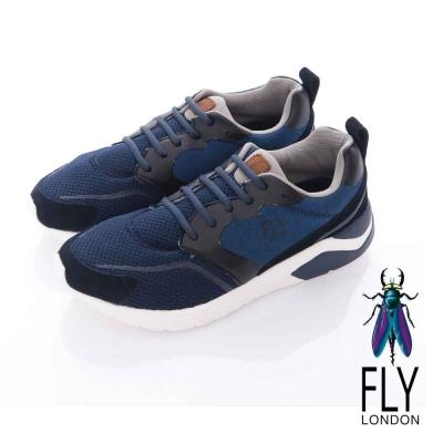 Fly London(男)- WARMUP 暖男專用 都會輕量運動鞋-藍海藍