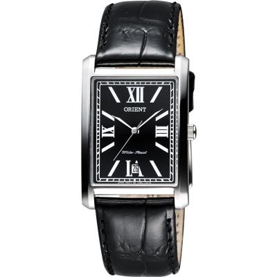 ORIENT 浪漫羅馬石英腕錶-黑/27mm