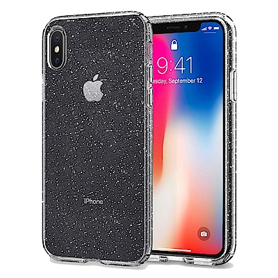 Spigen iPhone X Liquid Crystal超輕薄型彈性保護殼