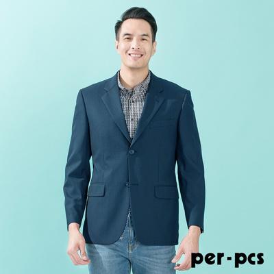 per-pcs 紳士商務休閒西裝外套 深藍黑(712303)