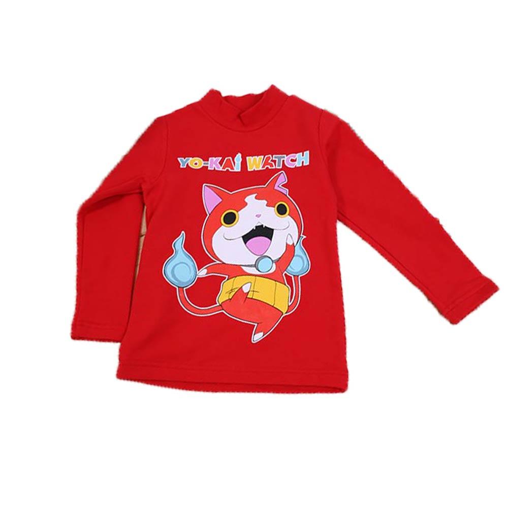 魔法Baby 台灣製妖怪手錶兒童長袖半高領上衣 k44744