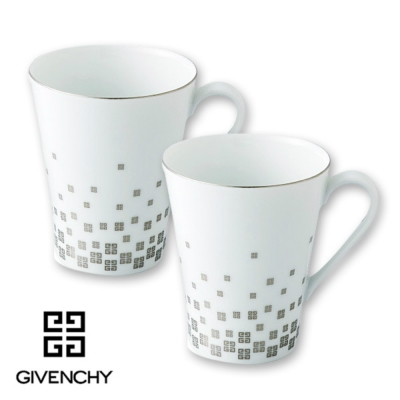 GIVENCHY紀梵希 日製瓷杯組 2入