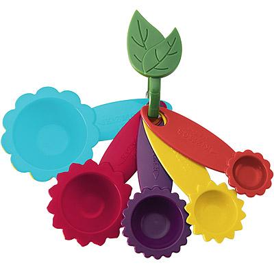 KitchenCraft 花型五色量匙組