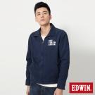 EDWIN 街頭工裝夾克外套-男-丈青