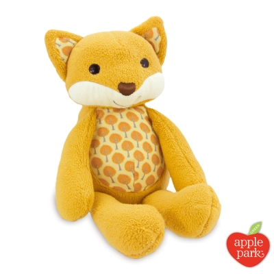 美國 Apple Park 有機棉安撫玩偶 - 森林狐狸