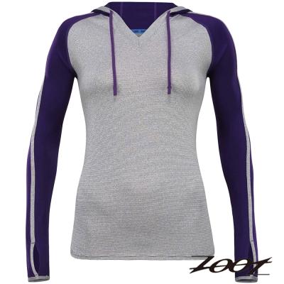 ZOOT頂級極致型潮風抗寒連帽式上衣(女)(薰衣紫)Z1504034