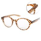 BOTTEGA VENETA眼鏡 甜美編織/透棕#BV154 SLJ