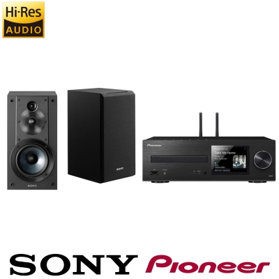 Pioneer先鋒 網路CD接收器 XC-HM86 +SONY SS-CS5 喇叭
