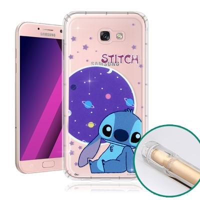 迪士尼正版-Samsung-Galaxy-A5-2017-空壓安全手機殼-史迪奇