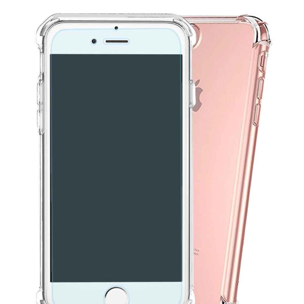 Yourvision iPhone 7 Plus鋼化玻璃膜非滿版四角氣墊防摔套