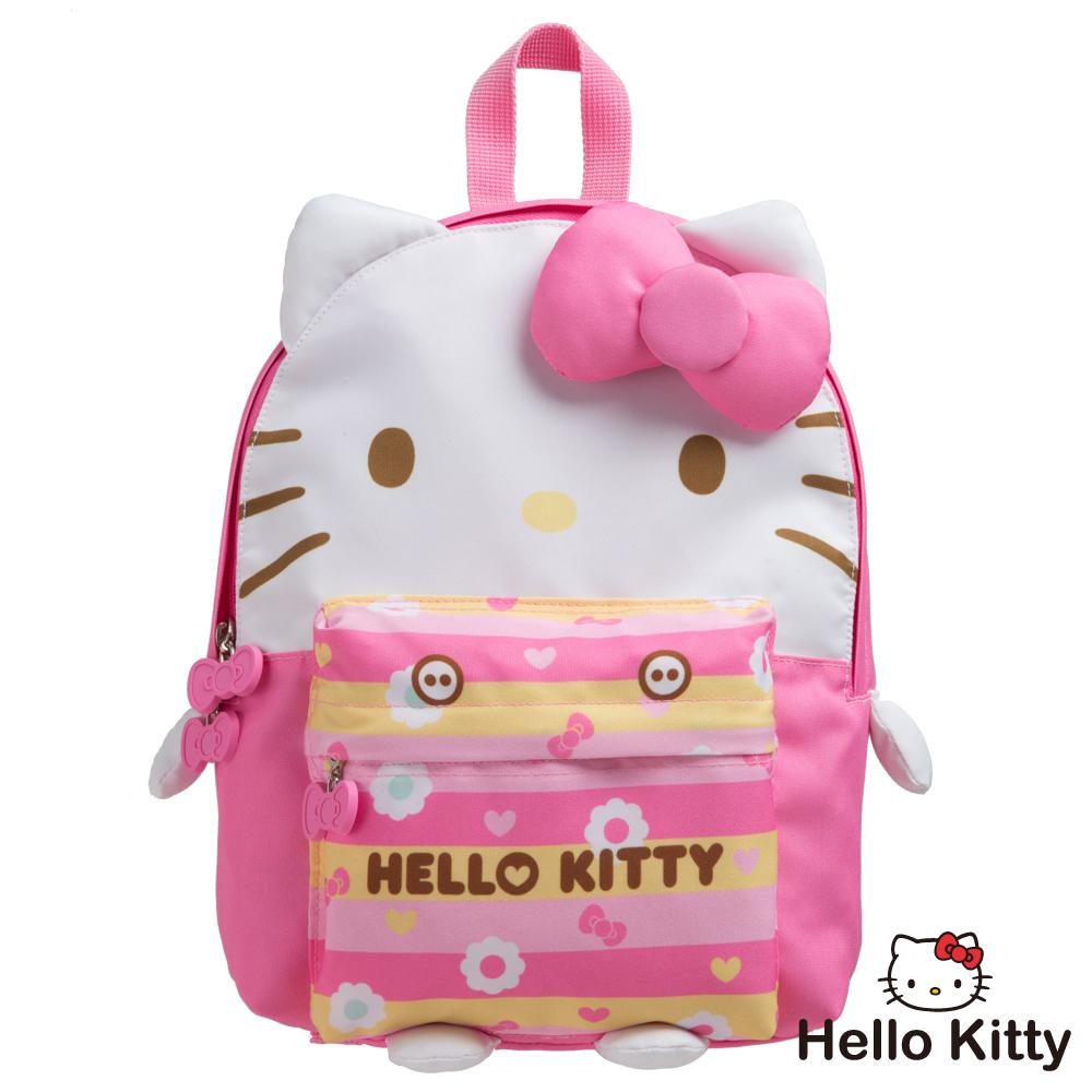 Hello Kitty KTQ版娃娃後背包-粉紅KT02B01PK
