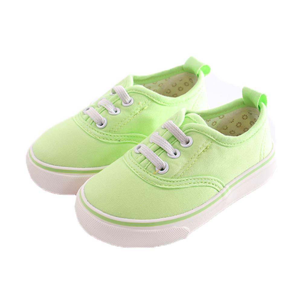 小童休閒布鞋 淺綠 sk0293 魔法Baby