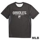 MLB-巴爾的摩金鶯隊圓領舒適T恤-深灰(男)