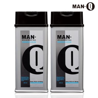 MAN-Q S3胺基酸修護全效潔淨露350mlX2