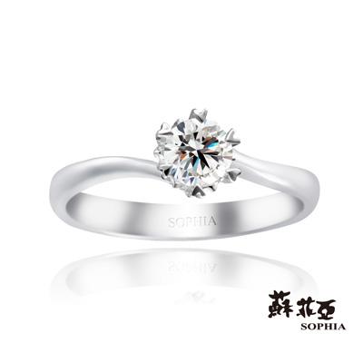 蘇菲亞SOPHIA-求婚戒-心有所屬0-20克拉F