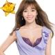 蕾黛絲-許願心鑽輕真水 D罩杯內衣(晶耀紫)