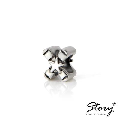 STORY故事銀飾-串珠墜飾-字母珠 X