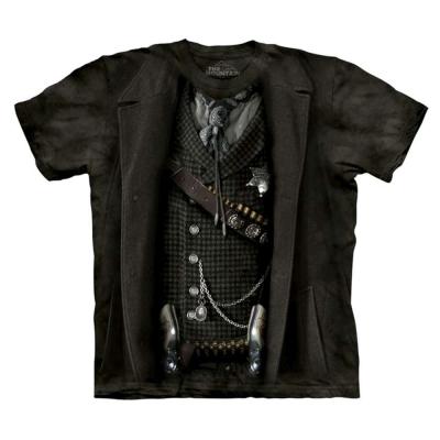 摩達客 美國進口The Mountain 變身警長  純棉環保短袖T恤