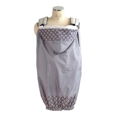 SOULEIADO 芙蓉花防水保暖披巾(灰)
