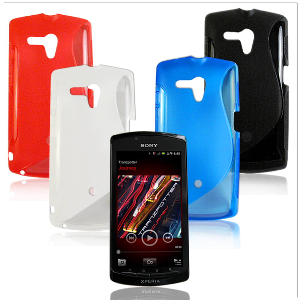 VXTRA Sony Xperia Neo L MT25i 拼色混搭水晶套