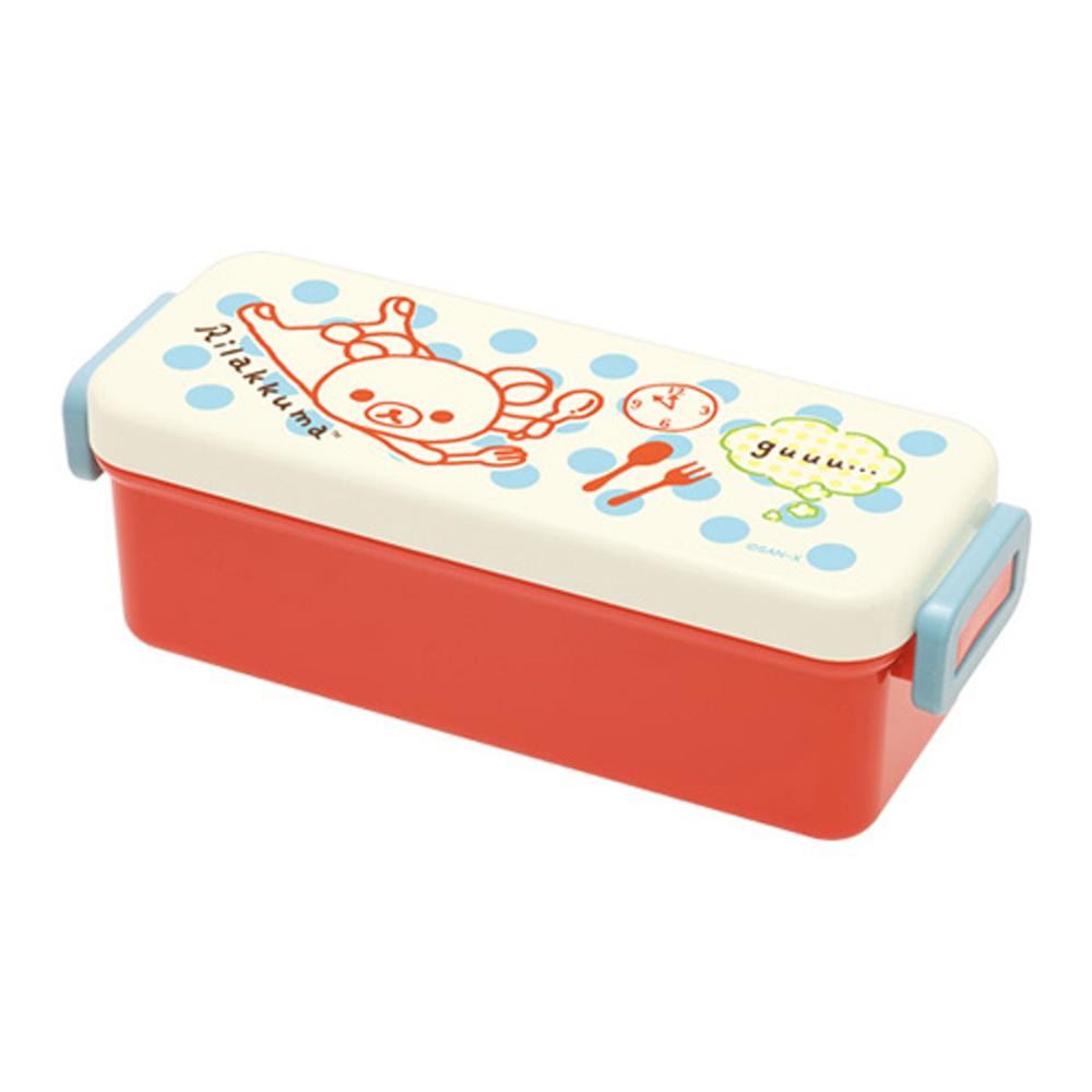 拉拉熊歡樂午餐系列長方形便當盒