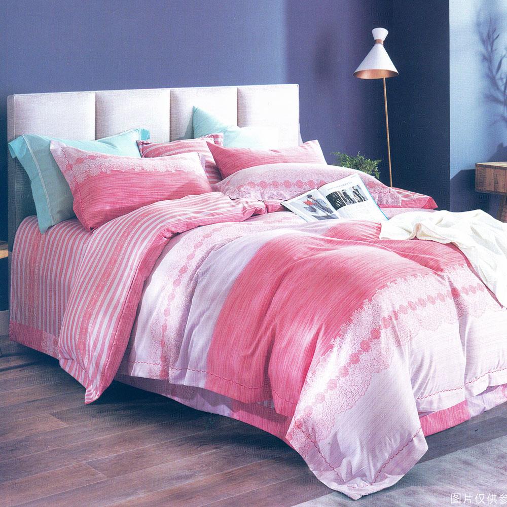 eyah宜雅 吸濕排汗絲滑天絲雙人床包枕套三件組 思念午後