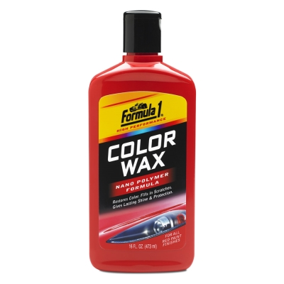 Formula1奈米色彩增艷蠟-紅色車系-急速配