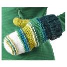 【Berghaus貝豪斯】女款保暖毛線手套H46F02-綠