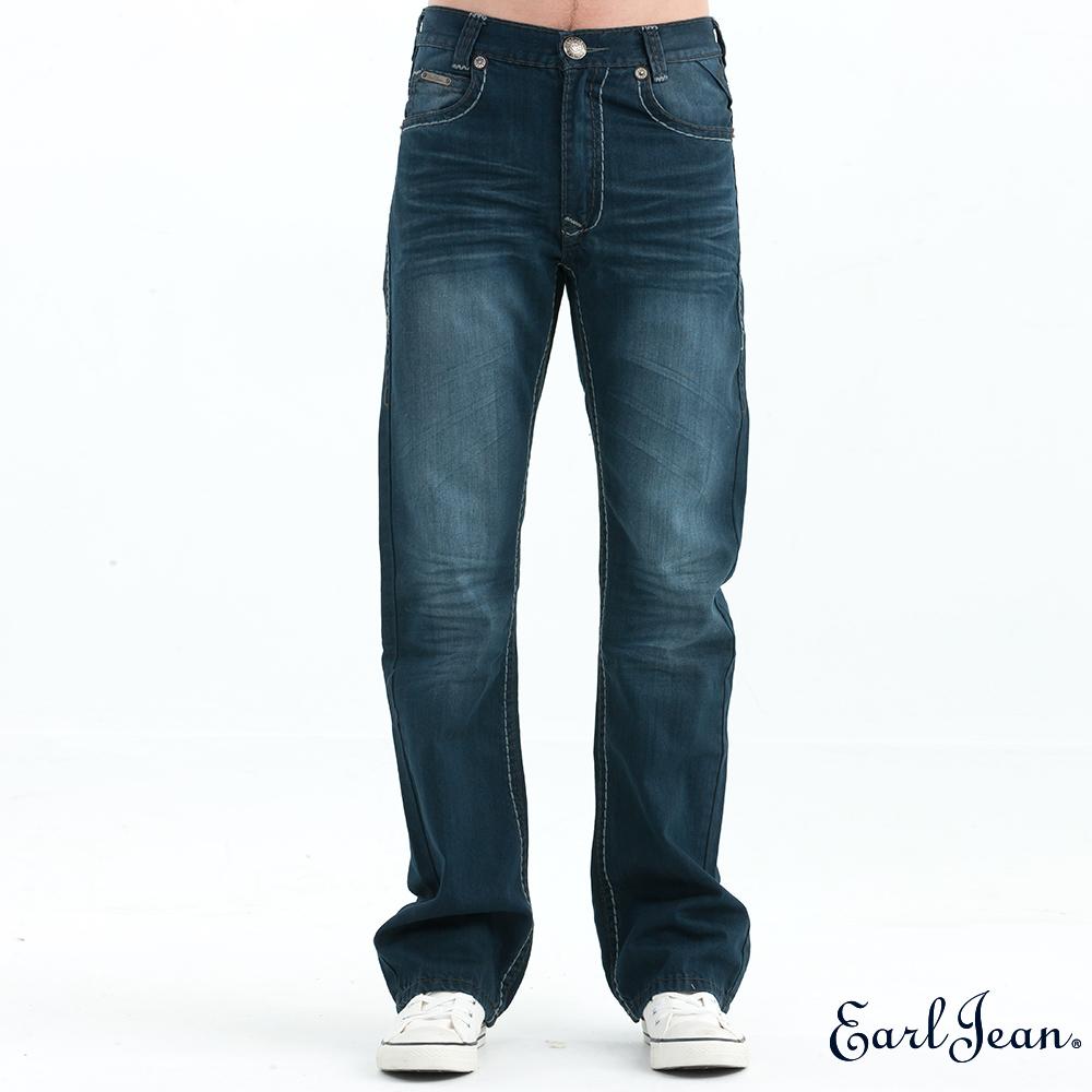 Earl Jean 經典水洗中腰合身靴型褲