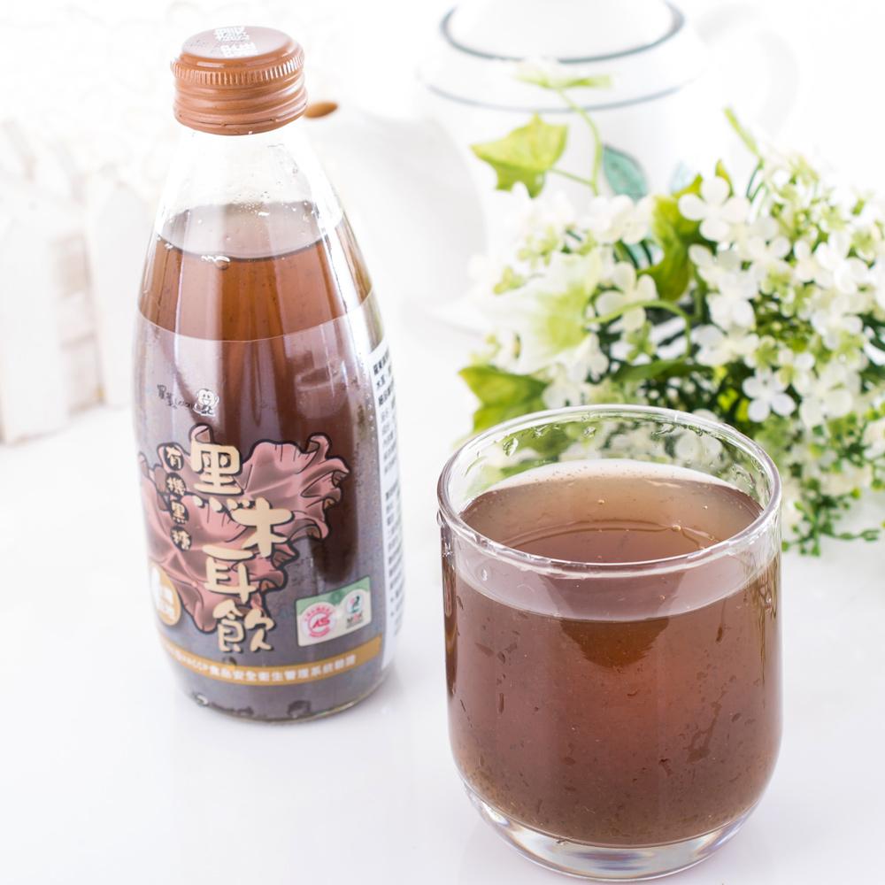 羅東農會 羅董有機黑糖黑木耳飲 24瓶 (245ml/瓶)
