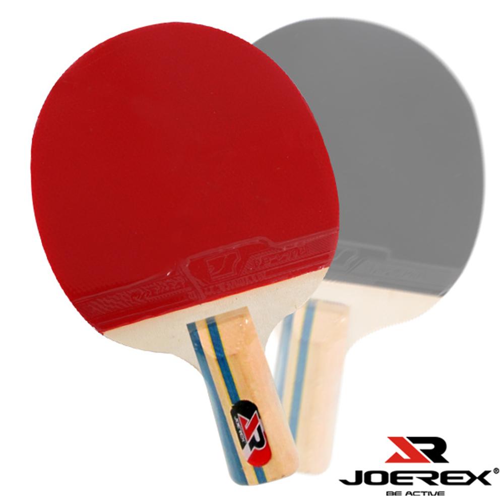 JOEREX。三星必殺短柄雙反膠乒乓拍/桌球拍(J311)2入1組
