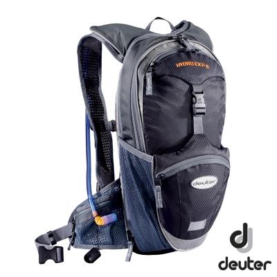 《Deuter》32185 自行車水袋背包 8+2L 黑/灰