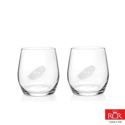 義大利RCR胡哥風情 無鉛水晶威士忌酒杯 (2入)360cc