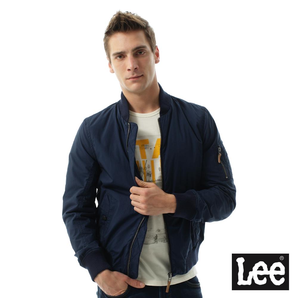 Lee 帥氣Regional休閒飛行夾克-男款-藍