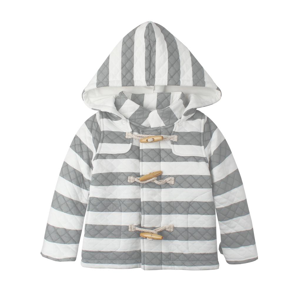 baby童衣 鋪棉保暖牛角扣 連帽外套 50498