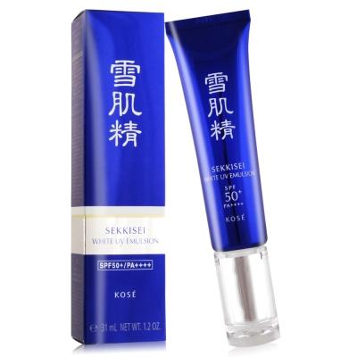 KOSE高絲 雪肌精光感澄皙UV柔膚乳SPF50+‧PA++++31ml/35g