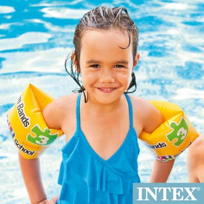 INTEX 游泳學校POOL SCHOOL-STEP 3臂圈 適用3~6歲(56643)