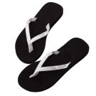 Rainbow Sandals美國細緻亮片夾腳休閒拖鞋-銀色