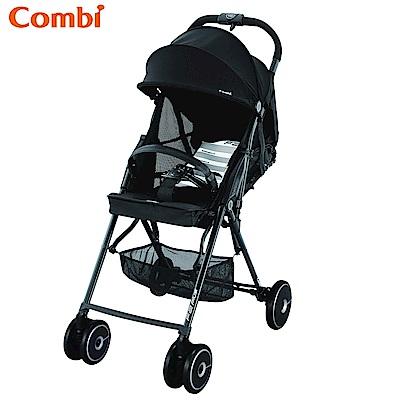 【麗嬰房】Combi F2 Plus AF超輕靚單向手推車-龐克黑