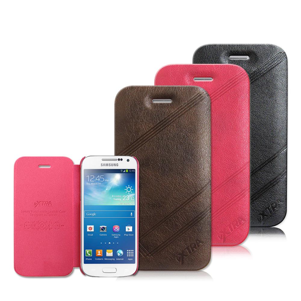 Samsung Galaxy S4 mini 復刻皮革系列 側翻薄型皮套