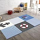 范登伯格 - 斑比  進口遊戲地毯 -  帆船 (117 x 170cm)