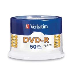 Verbatim威寶 DVD-R 4.7GB 16X LifeSeries 50片 光碟片