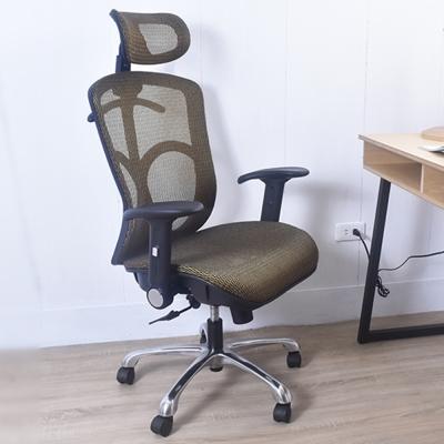 凱堡 Saunders高配全功能 第二代高韌性彈力網工學機能椅