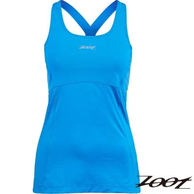 ZOOT 專業級美背式緊身運動背心(女)(水藍) Z1504002