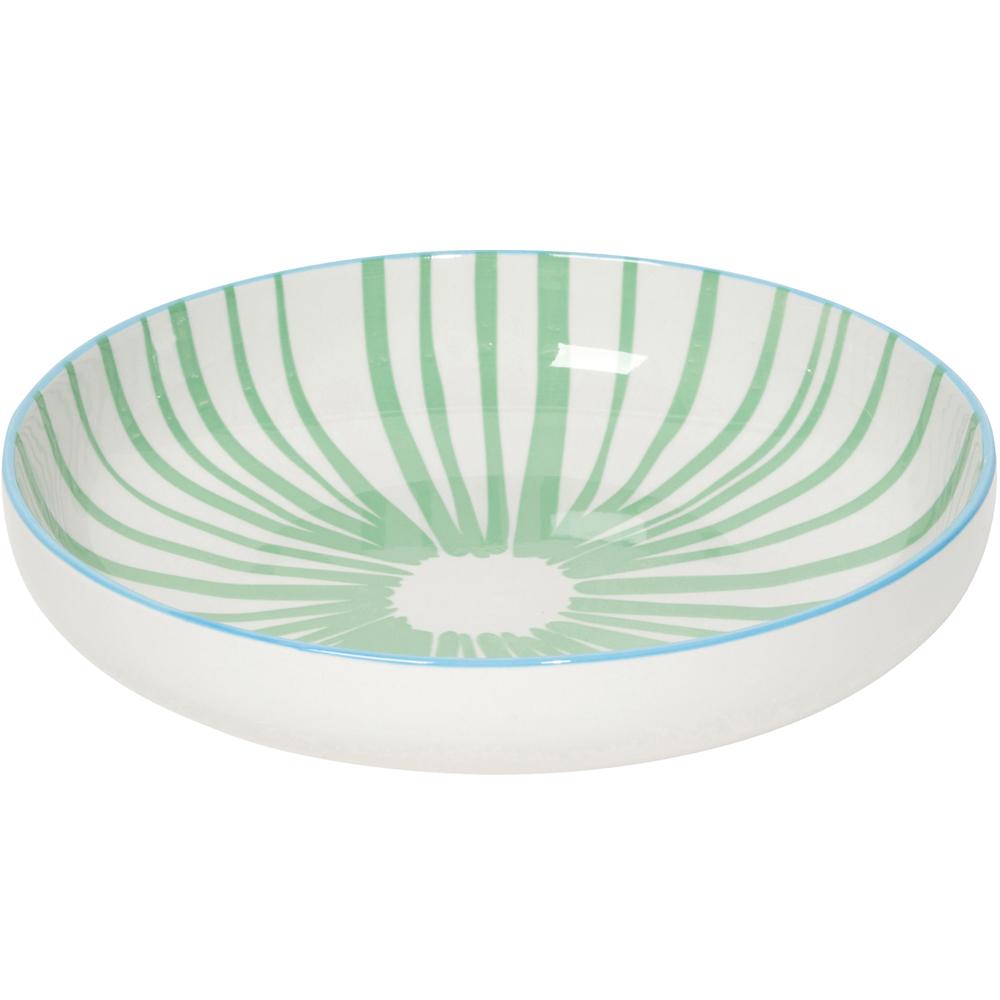 NOW 圓型深餐盤(水草綠)