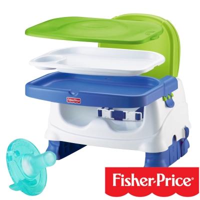 費雪牌Fisher 寶寶小餐椅+飛利浦PHILIPS 4號奶嘴(任選)
