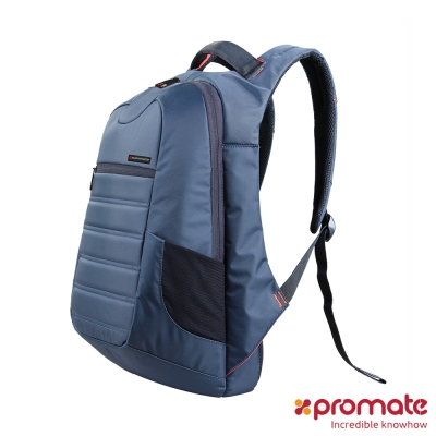 Promate Zest 防水時尚後背包 (藍)